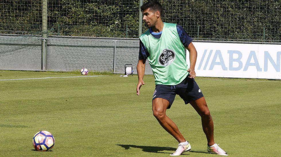 «Tengo claro que me voy a ganar el pertenecer al Deportivo ya»