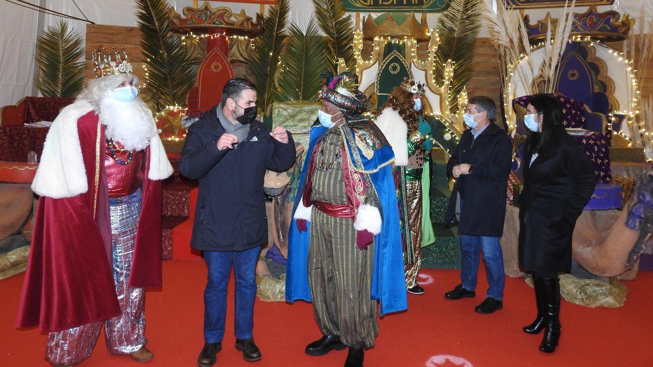 Los primeros Reyes Magos, en A Laracha, Coristanco y Zas: ¡mira las imágenes!