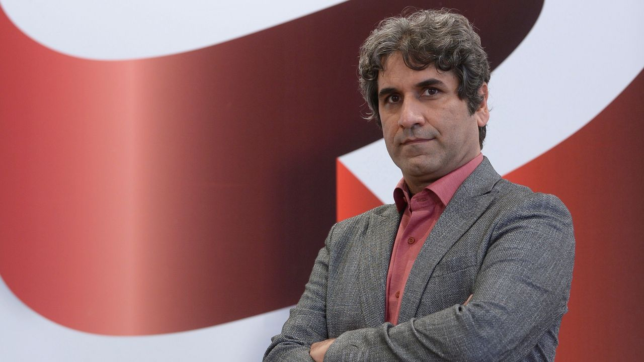 El director iranía Ahmad Bahrami, en la Seminci