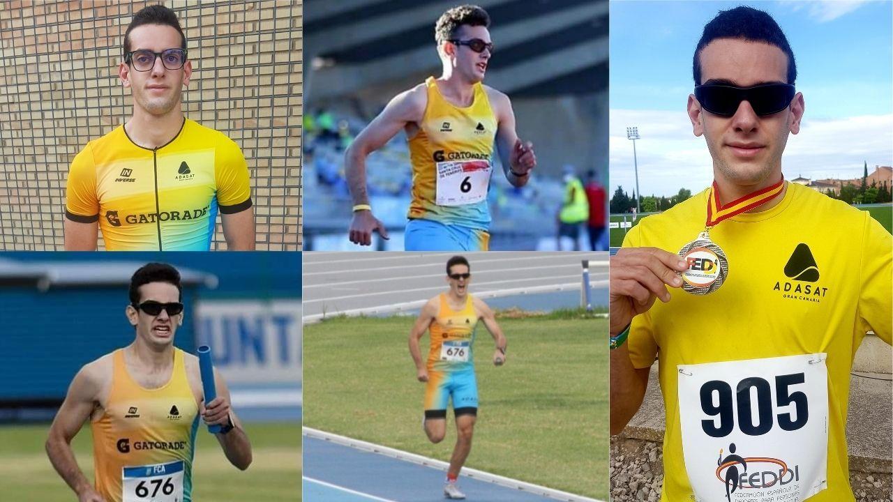 Luis Fernando Pastor, joven promesa asturiana del atletismo adaptado