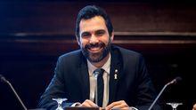 Mesa del Parlamento de Cataluña