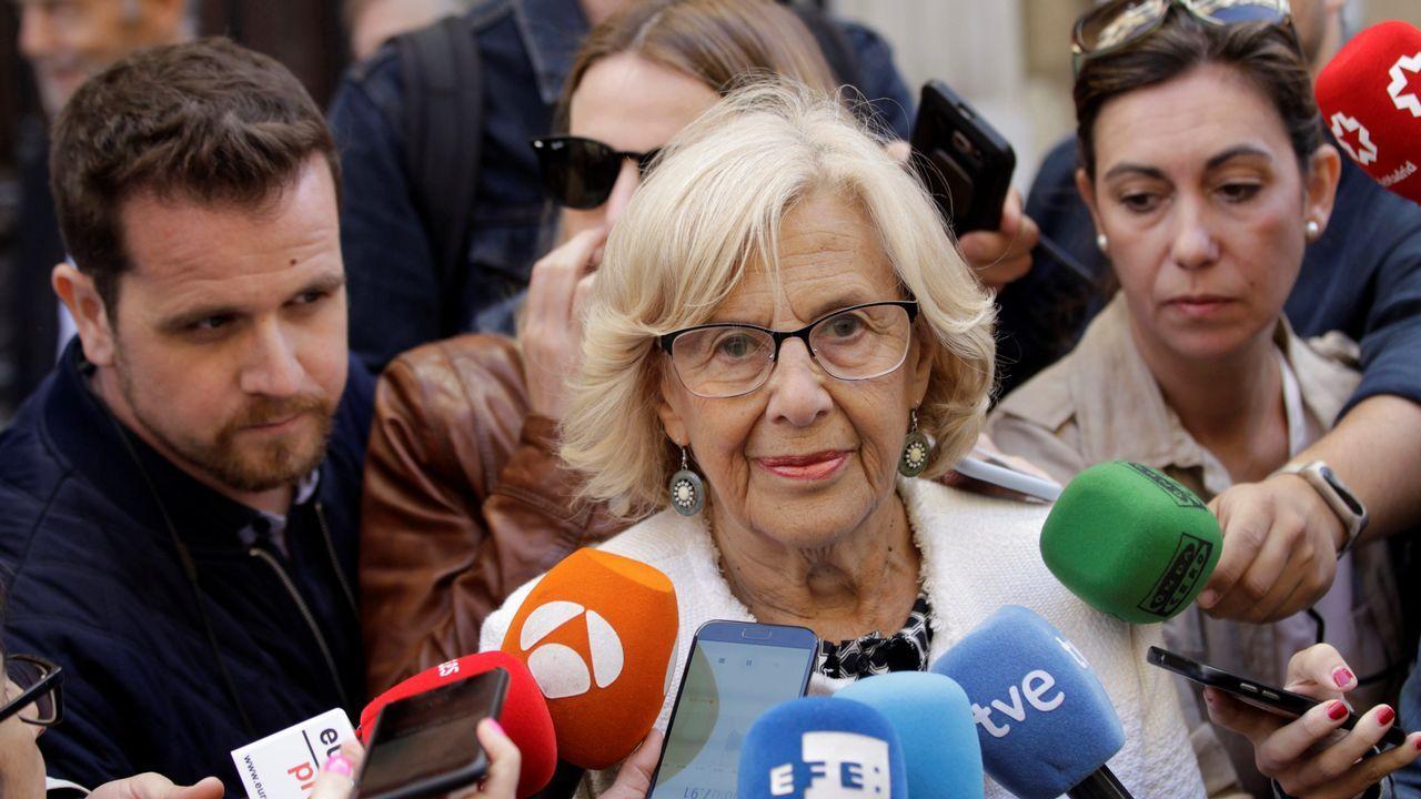 La alcaldesa en fuciones de Madrid, Manuela Carmena