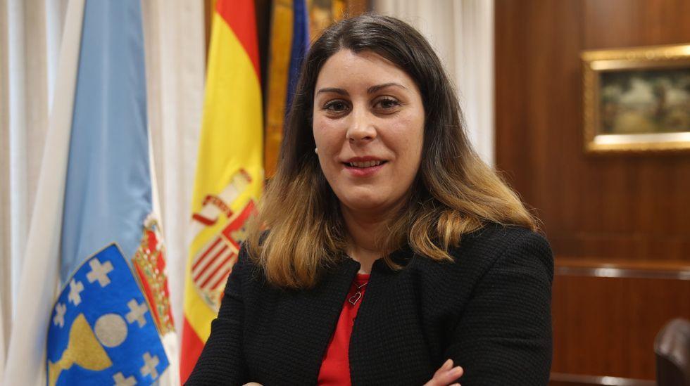 Melisa Macía es la alcaldesa de Vilariño de Conso