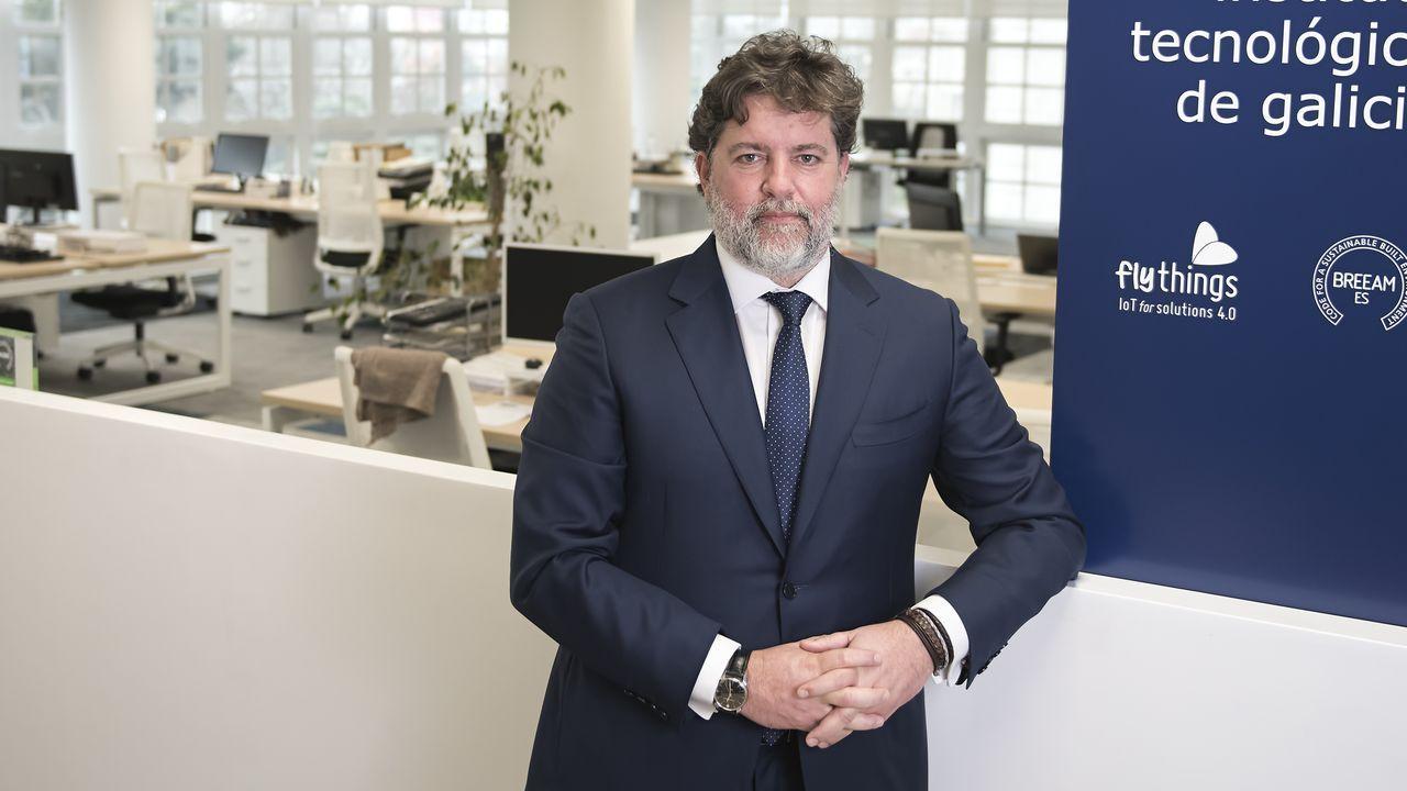 Xosé Manuel Leis, director del CIFP Politécnico de Santiago, uno de los centros piloto de los másteres de FP en Galicia