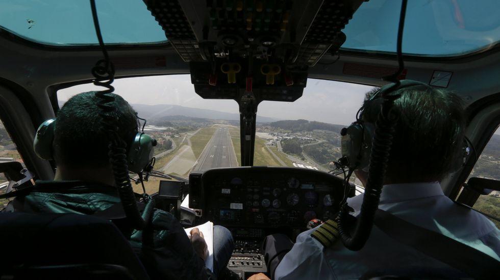 El helicóptero que la DGT
