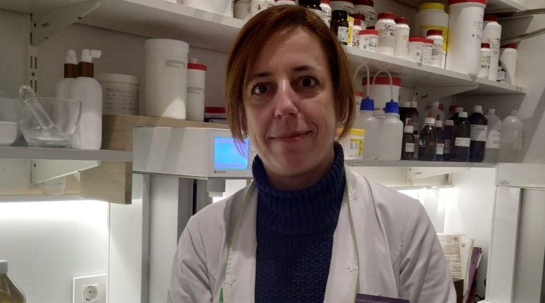 La portavoz de IU en el parlamento asturiano, Ángela Vallina