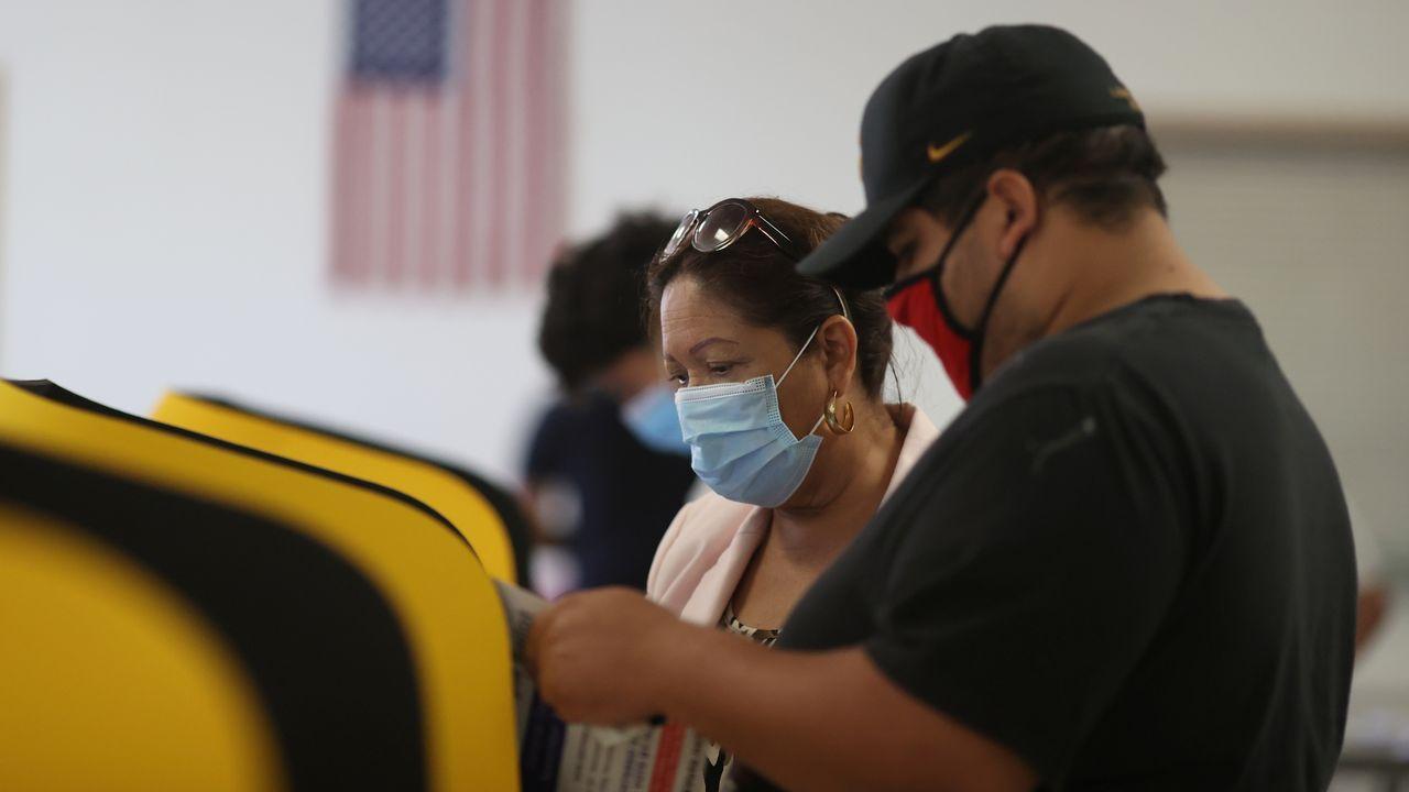 En California los ciudadanos también votaron sobre cuestiones como la legalización de drogas