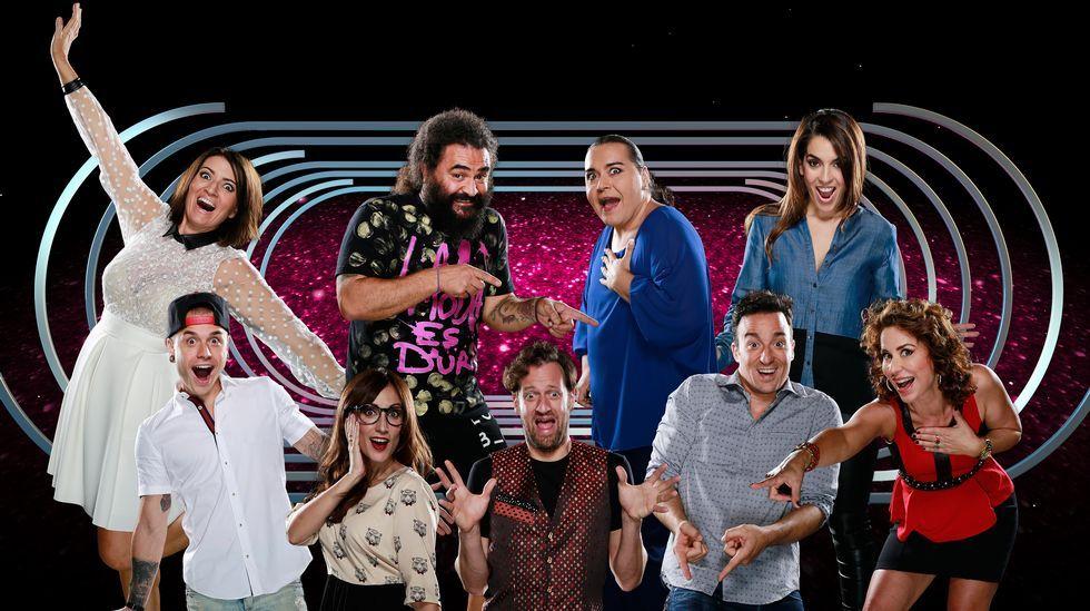 Los nueve aspirantes de la cuarta edición del programa.