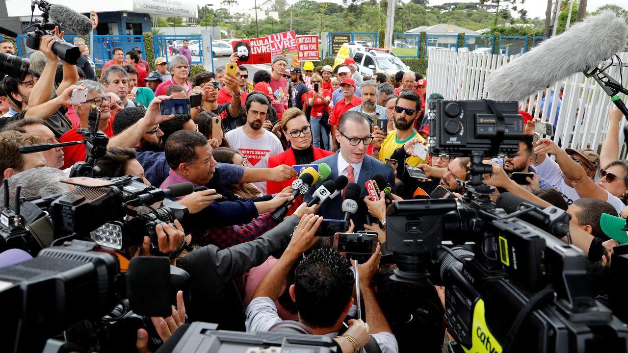 El abogado de Lula presentó este viernes  la petición para la excarcelación del expresidente, en base a la decisión adoptada por el Tribunal Supremo de Brasil (STF).
