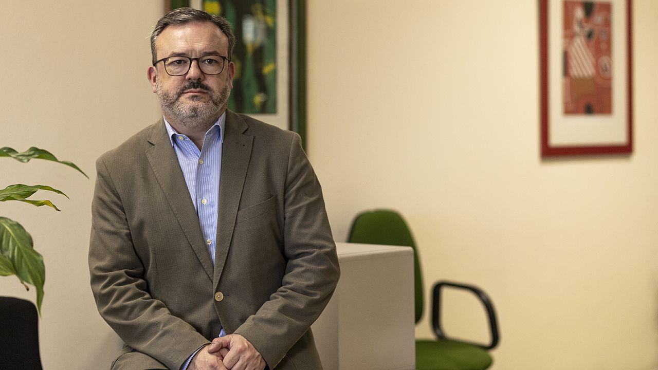 alga tarifa.Alfredo García Quintana, concejal de Turismo de Oviedo