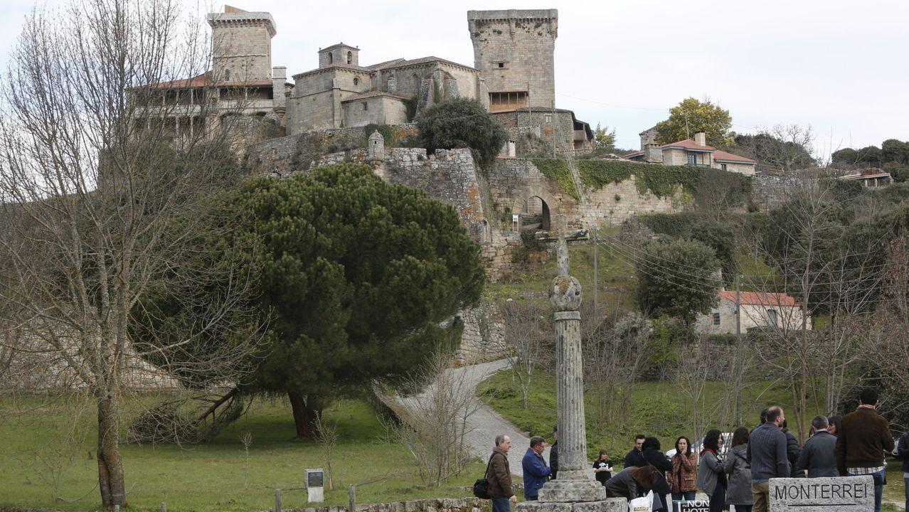 Imagen del Castillo de Monterrei
