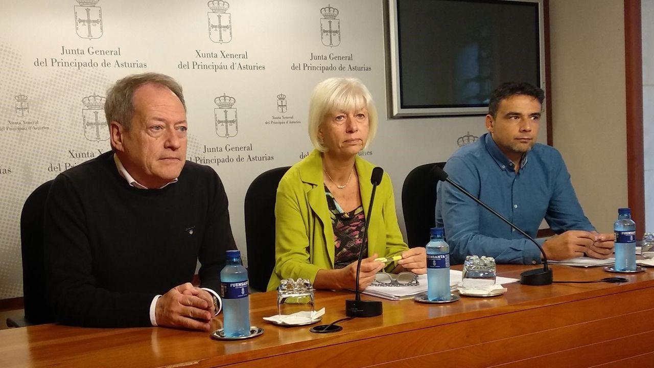 Baterías de coque de la planta de Arcelor en Gijón.Aurelio Martín, Concha Masa e Iván Álvarez