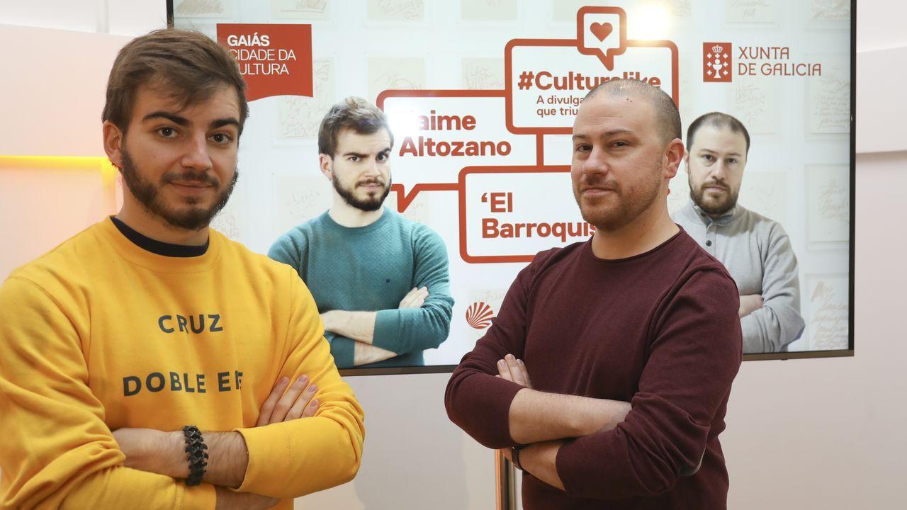Jaime Altozano y El Barroquista, en #CulturaLike, unas recientes jornadas celebradas en Santiago