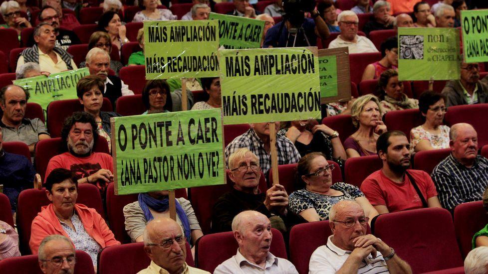 Pleno en Chapela contra las obras de la autopista AP-9