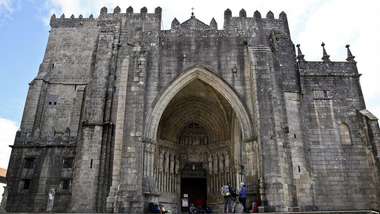 Fachada de la Catedral de Tui
