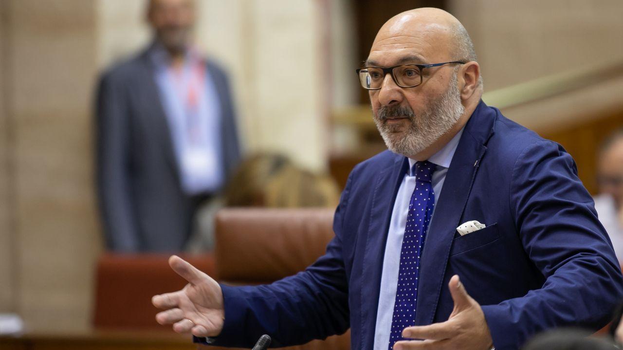 Alejandro Hernández, portavoz de Vox en el Parlamento andaluz