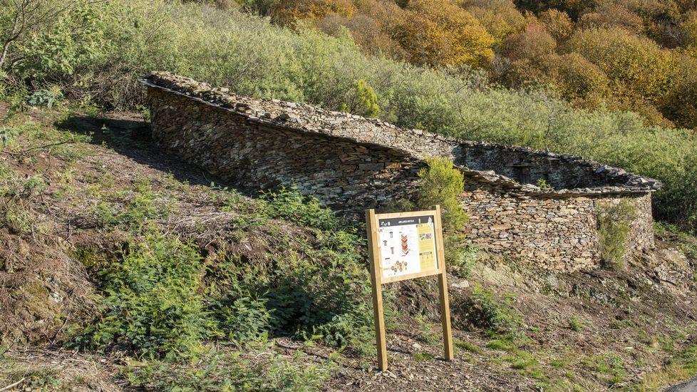 Exemplos de construcións tradicionais de pedra sen argamasa.Felipe Díaz-Miranda, nuevo presidente de la SOF