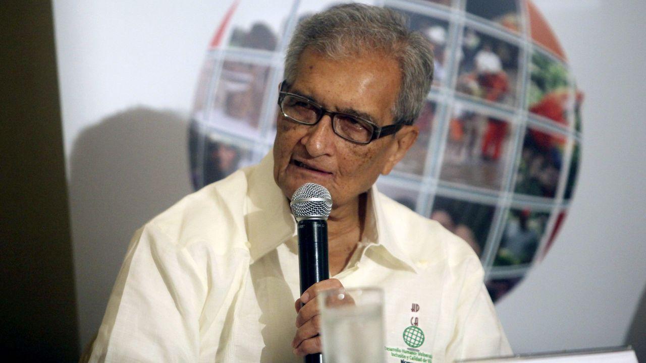 Fotografía de archivo (13/09/2013), del economista indio Amartya Sen