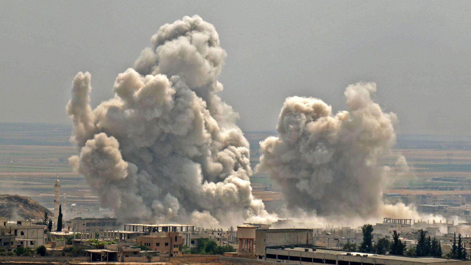 Biden ordena bombardear Siria