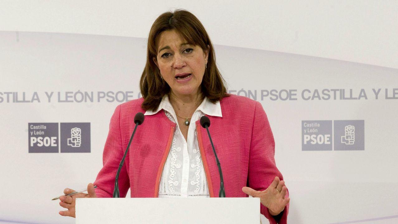 Imagen de archivo de la exportavoz del grupo socialista en el Congreso de los Diputados Soraya Rodríguez