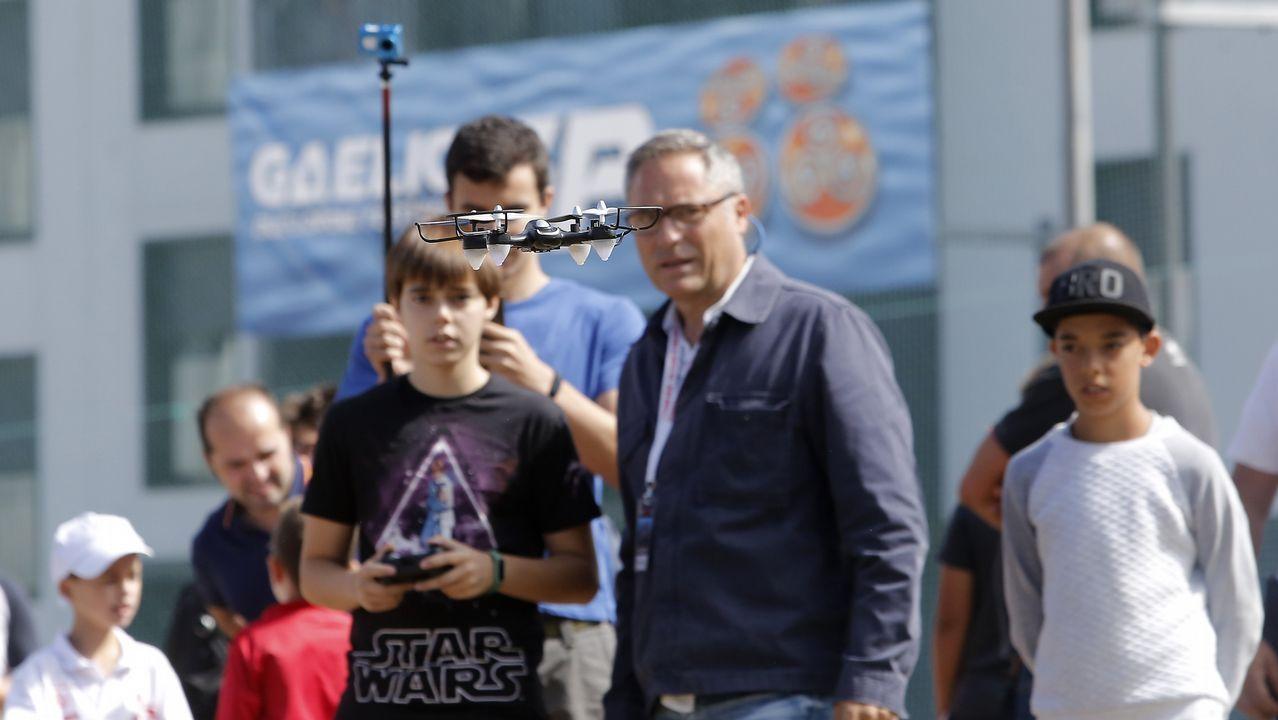 Bueu se convierte en la capital del dron este fin de semana
