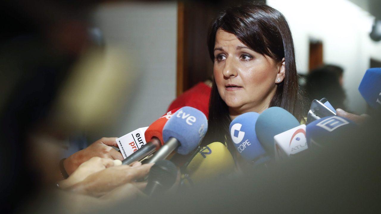 La portavoz de Ciudadanos en la Junta General del Principado, Laura Pérez
