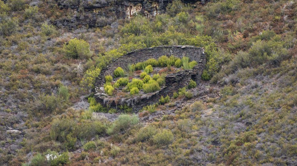 Recorrido fotográfico por la mina del Burato do Lobo