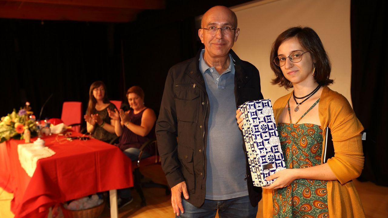 Gonzalo López Abente, retratado por Quintás Goyanes