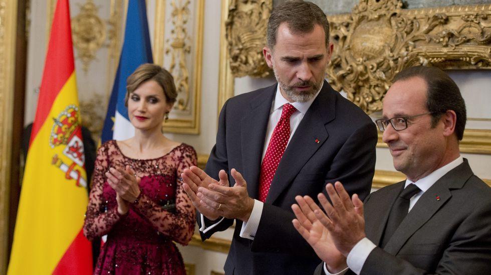 La visita de Estado de los reyes a Francia, en imágenes