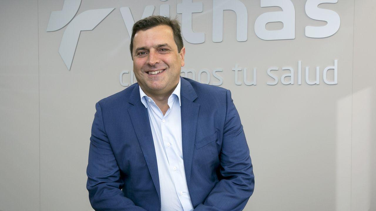 Centro de salud Laviada, en Gijón.El neumonólogo asturiano Jaime Martínez González del Río