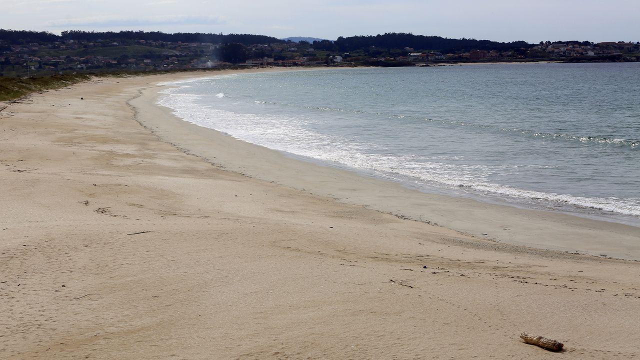 Praia da Lanzada (Sanxenxo y O Grove).