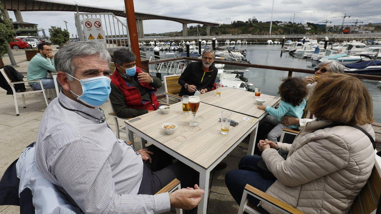 Ribadeo y sus vecinos asturianosvuelven a reunirse.El concello de Mondoñedo no registró casos nuevos de coronavirus en los últimos siete y catorce días