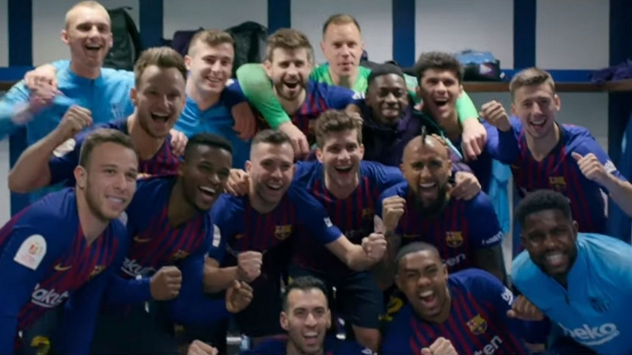 Fotograma del documental «Matchday-Inside FC  Barcelona»
