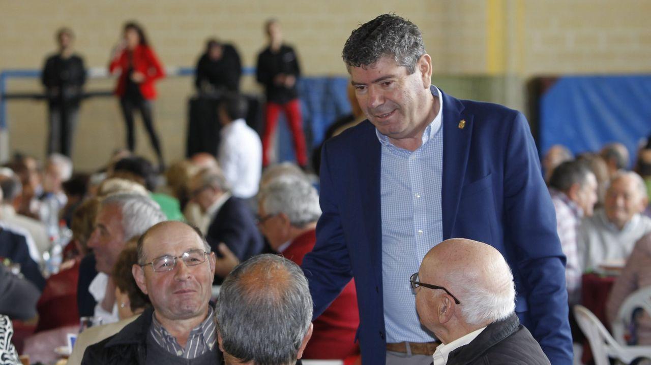 Galicia en alerta por la borrasca Helena.Nieve en A Fonsagrada
