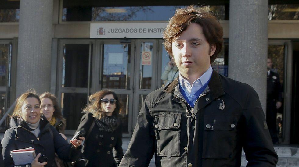 El pequeño Nicolás triunfa en San Mateo.El pequeño Nicolás, declarando en el juzgado