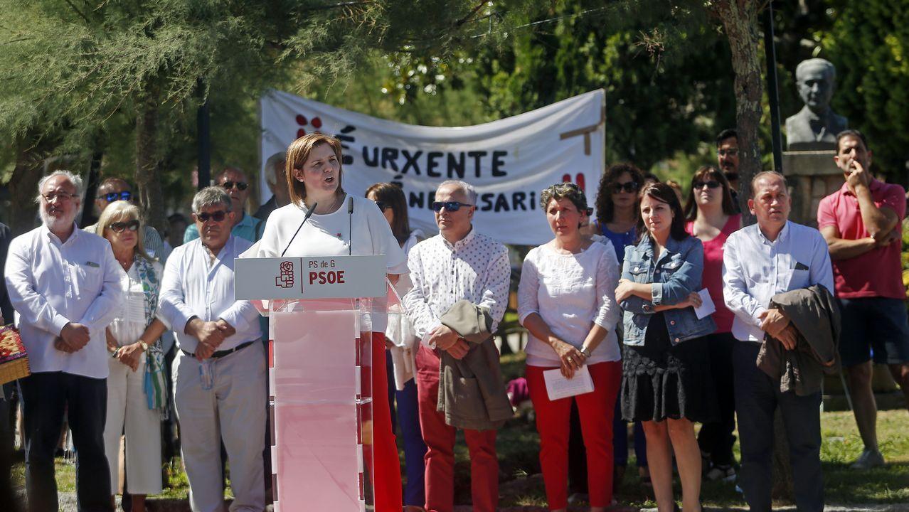 Acto central del PSOE en Rianxo por el Día de Galicia.Orquesta Aché