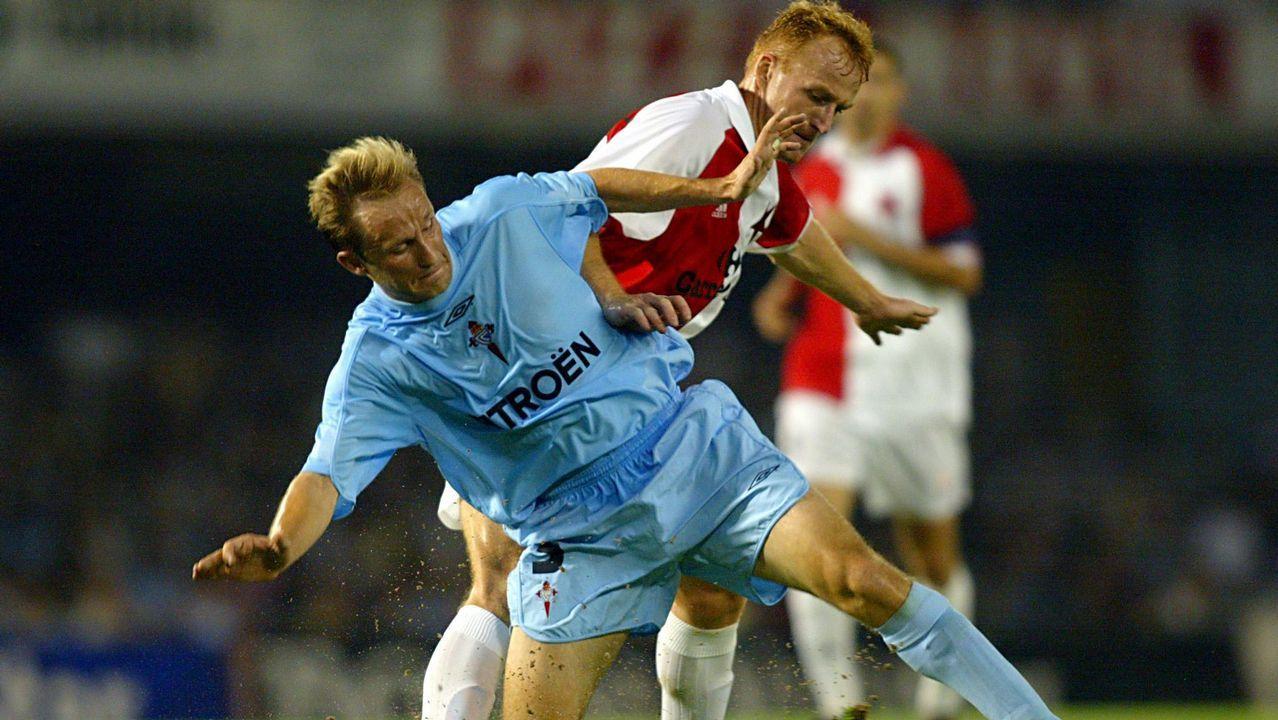Debut en Liga de campeones frente al Slavia