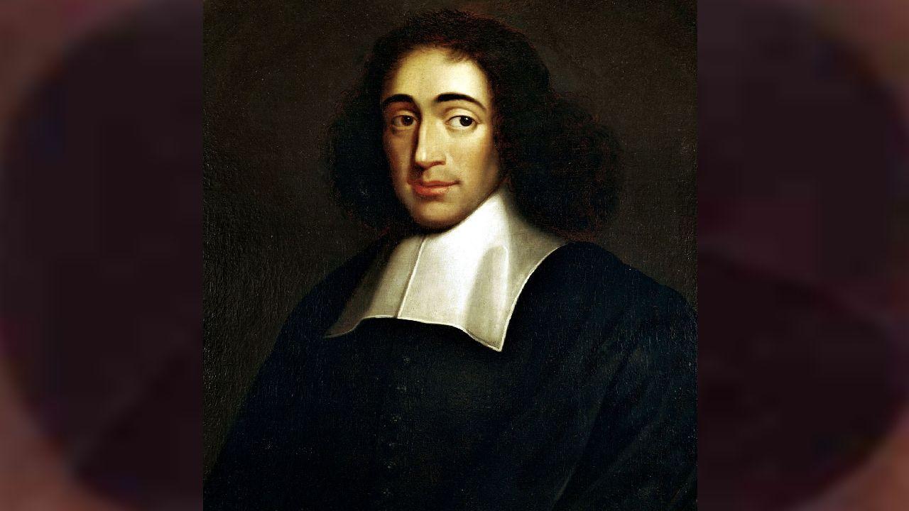 Retrato de Spinoza, datado alrededor de 1665 y de autor anónimo.