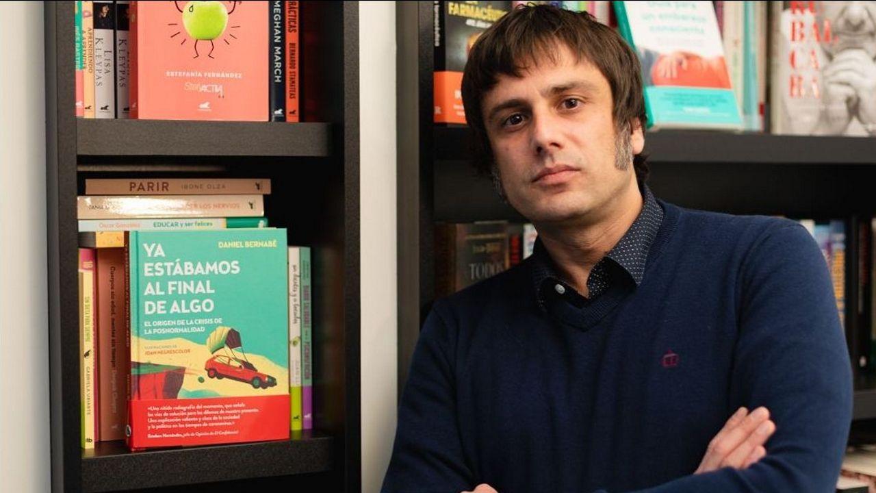 El escritor Daniel Bernabé