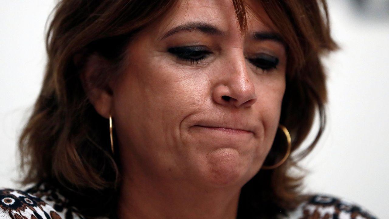 Una diputada del PP a Rufián: «No me guiñes el ojo, imbécil».Manuel Marchena, en una imagen de archivo, hablando con la ministra de Trabajo en funciones, Magdalena Valerio
