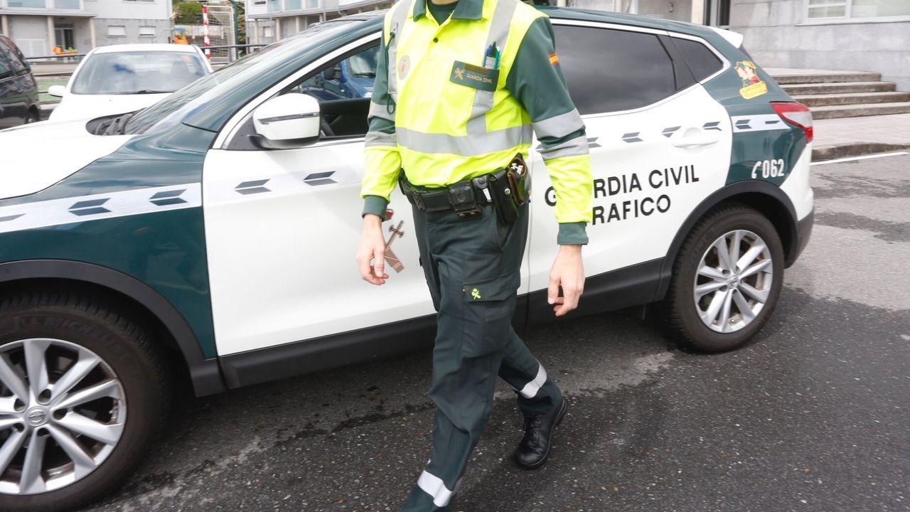 Varias patrullas de la Guardia Civil acudieron al presunto rapto