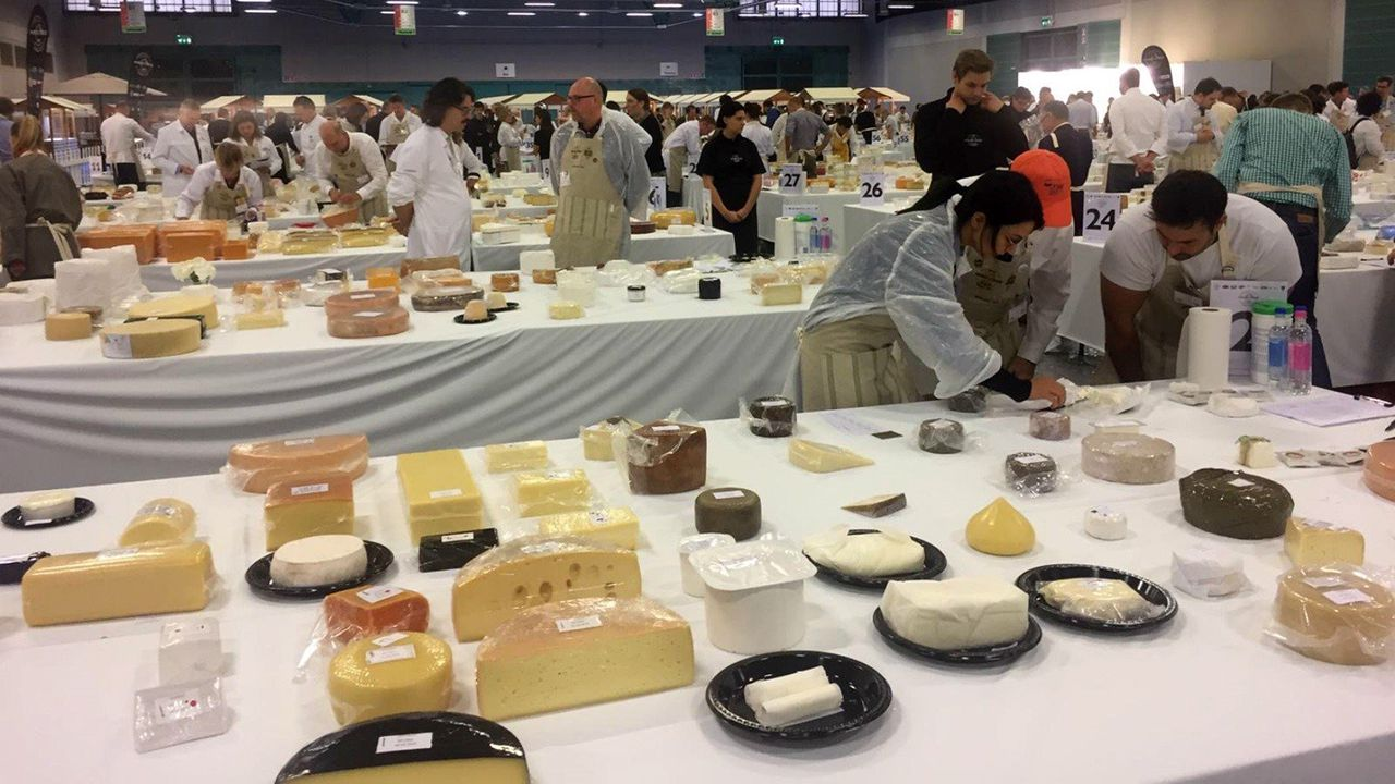 World Cheese Awards en Bergamo
