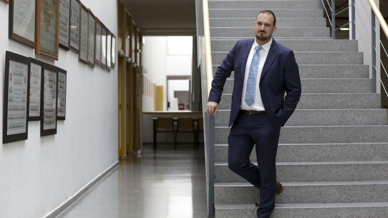 Asífue la primera escuela para los pigmeos.Álvaro Rengifo, presidente de la Fundación AMREF España