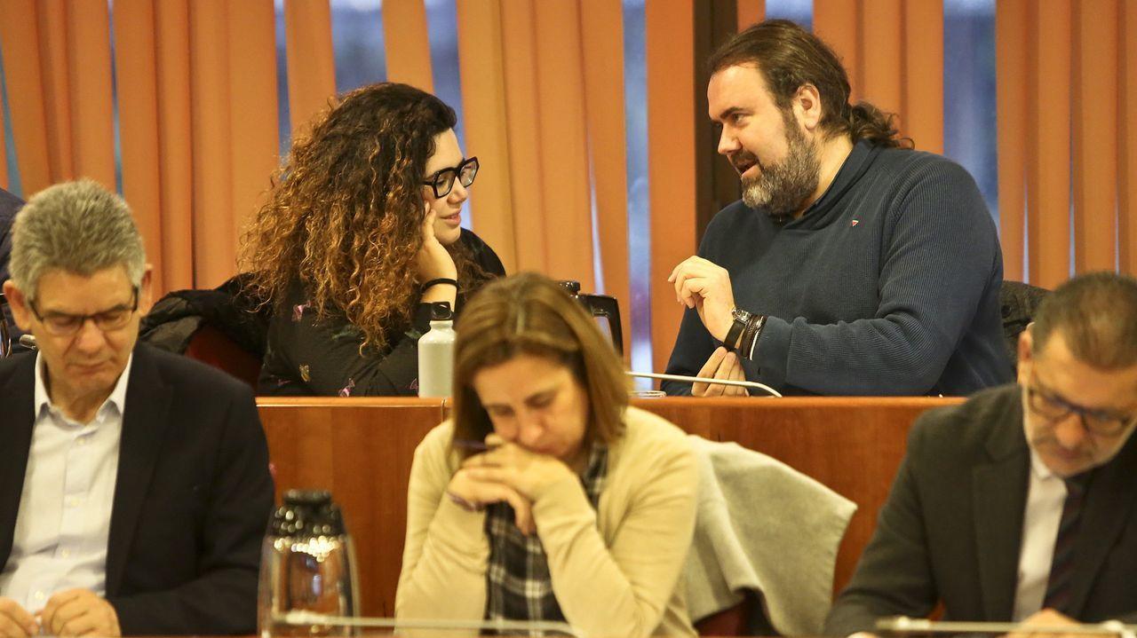 Protesta del sector de la peluquería en Vigo.Las protestas contra la política del Concello de Vigo con el Marco se suceden desde hace tres años