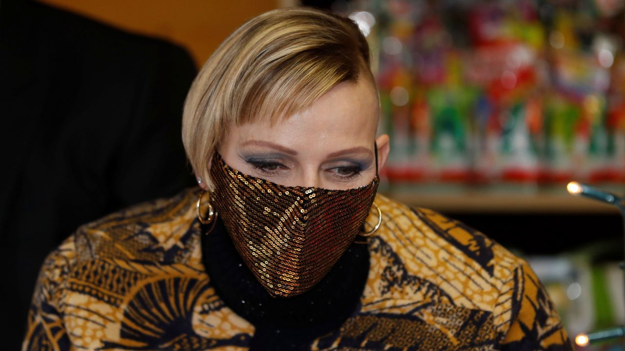 El transgresor estilismo de Charlene de Mónaco