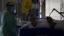 Un paciente ingresado en uci
