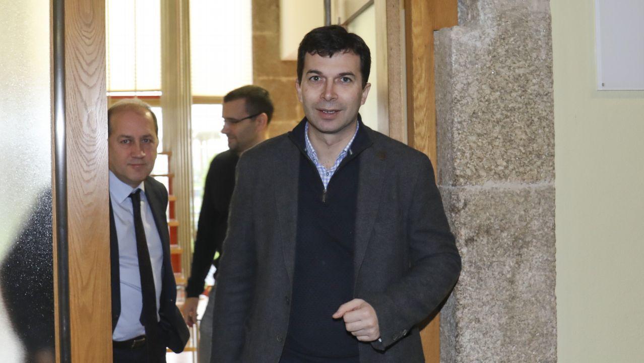 El exdiputado autonómico de Santiago Xosé Antonio Sánchez Bugallo