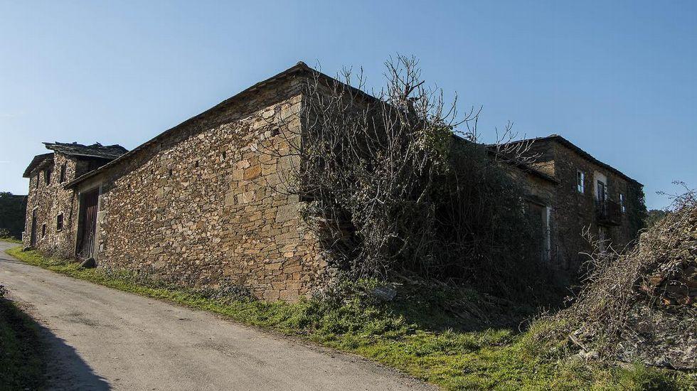 La Casa de Mestre se encuentra en el pueblo de Vilamaior