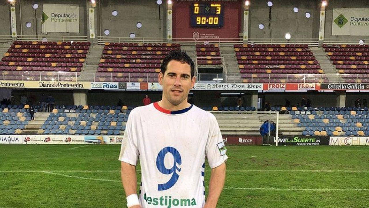 Jorge García Torre recuerda a Quini ya como jugador del Rayo Majadahonda