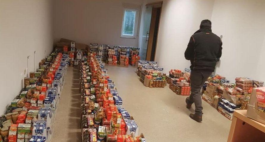 Cualedro repartirá cientos de kilos de comida